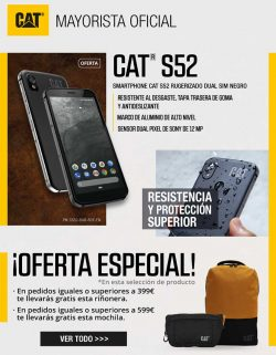 oferta especial movil todoterreno CAT S52