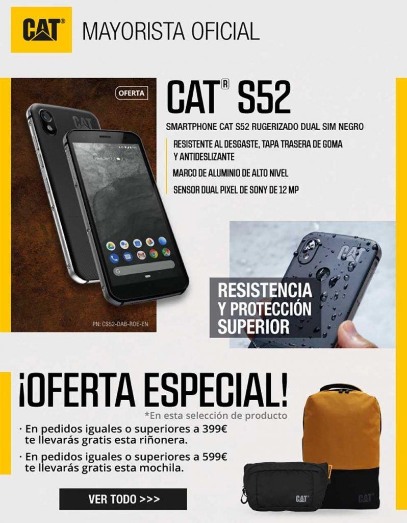 oferta especial movil todoterreno CAT S52