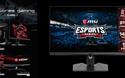 Promoción monitores gaming de MSI