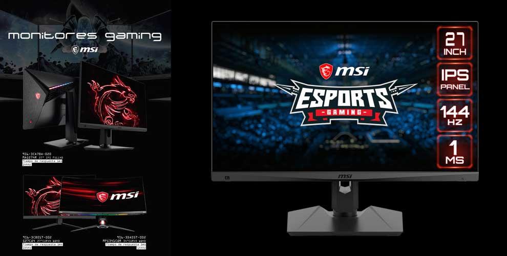 oferta en monitores gaming