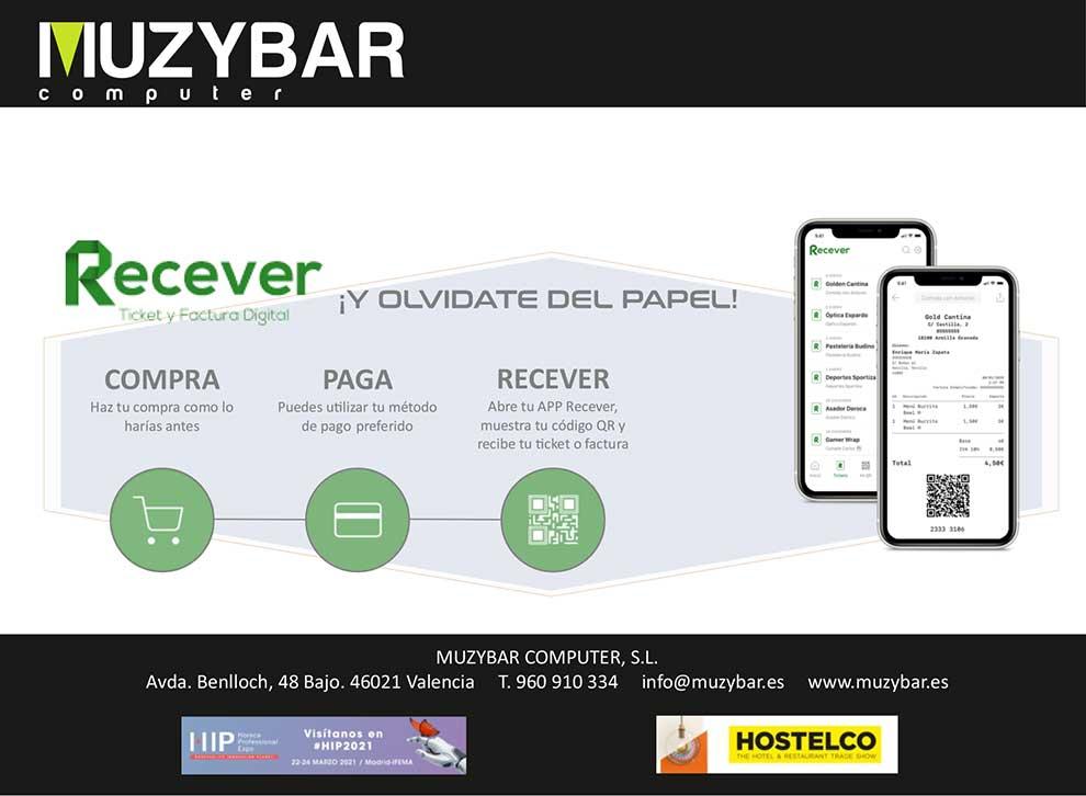 recever app ticket y factura digital