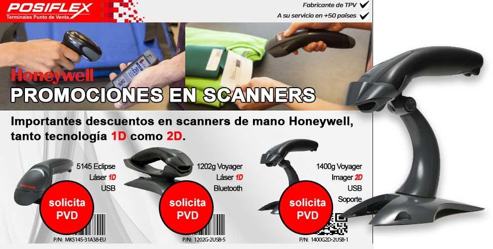 importantes descuentos en scanners Honeywell