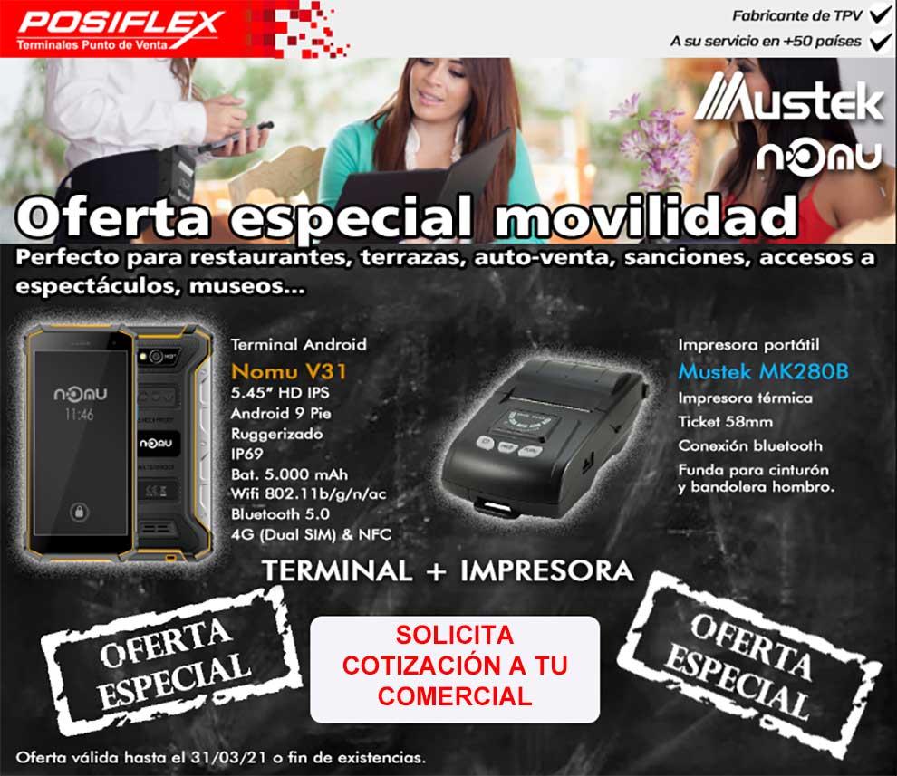 promocion especial en Posiflex