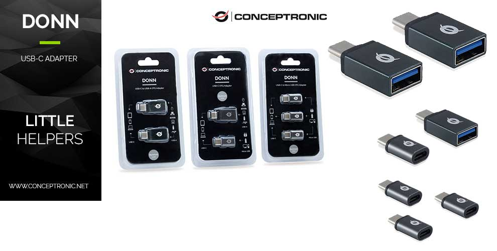 adaptadores usb-c Conceptronic
