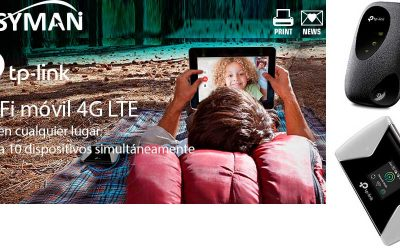 Wi-Fi móvil 4G LTE en cualquier lugar