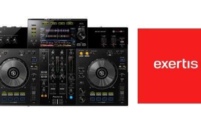 Sistema de DJ Todo en Uno de 2 canales