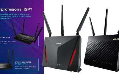 Globomatik te envía un router Asus demo para auto provisionamiento