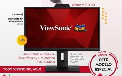 Viewsonic VG2440V, diseñado para videconferencias