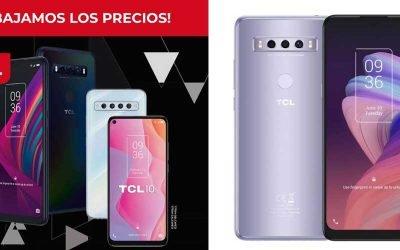 Bajamos los precios en smartphones TCL