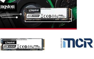 Kingston SSD PCIe NVMe KC2500