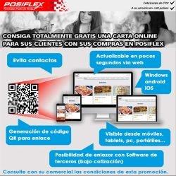 consigue tu carta online gratuita en Posiflex
