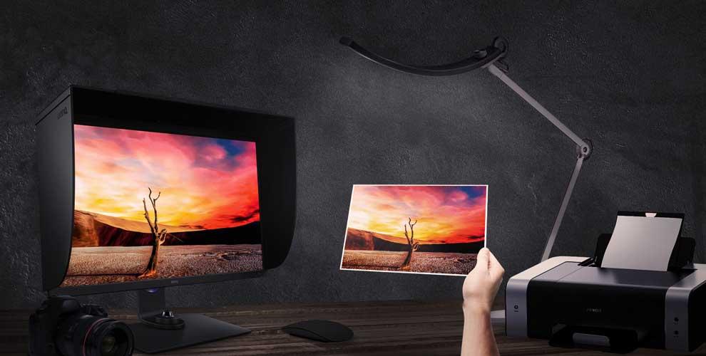 monitor para fotógrafos Benq