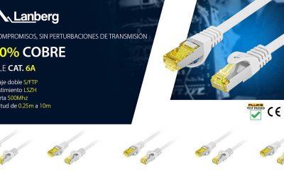 Lanberg presenta nuevos cables CAT6 100% cobre
