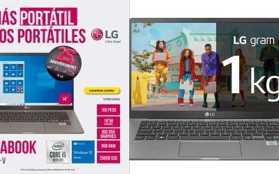 LG el más portátil de todos los portátiles