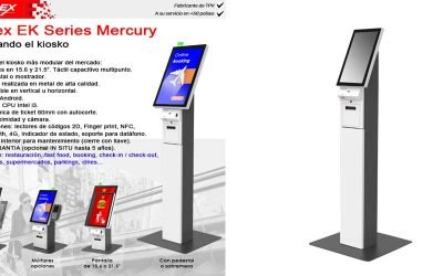 Reinventando el kiosko con el Posiflex EK Series Mercury