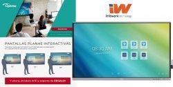 mejor precio pantallas interactivas Optoma