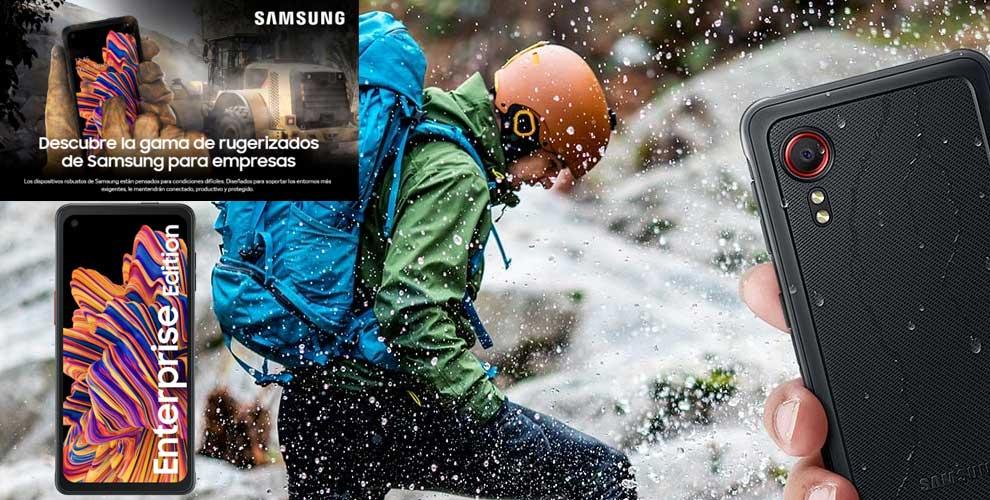 mejor precio móvil rugerizado de samsung