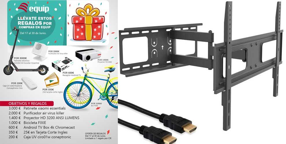 comprar soporte para tv o monitor