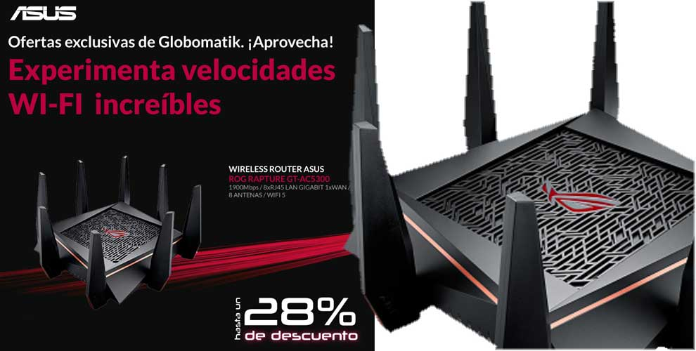 mejor precio router asus wifi rápida