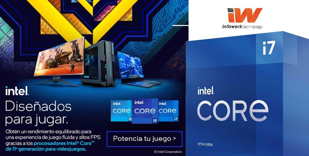 Procesadores Intel, diseñados para jugar