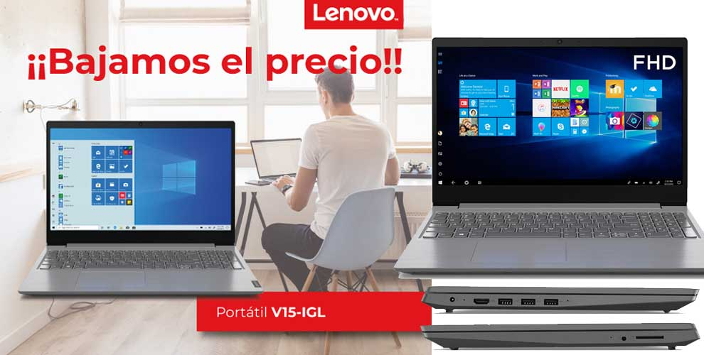 mejor precio mayorista portatil Lenovo