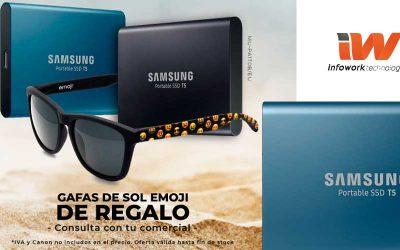 Samsung T5 viene con gafas de regalo en Infowork