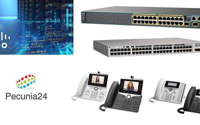 Todo el mundo de productos Cisco en Pecunia24