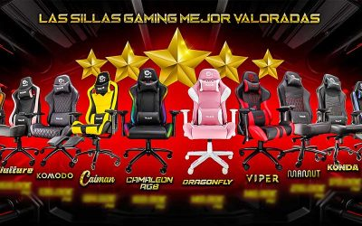 Top Ventas Junio sillas gaming en Talius