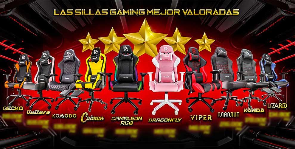 Talius, sillas gaming mejor valoradas
