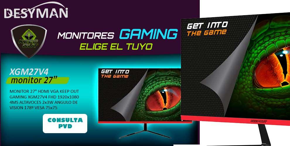 mejor precio monitor gaming