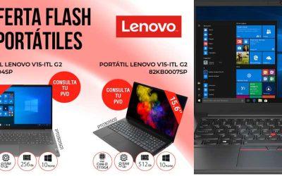 Oferta Flash portátiles Lenovo en DMI