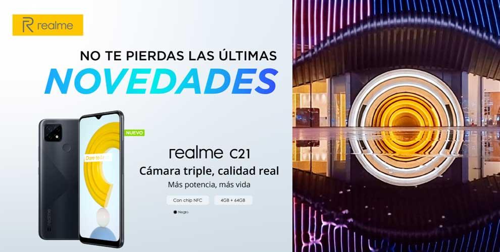 realme c21, cámara triple, calidad real