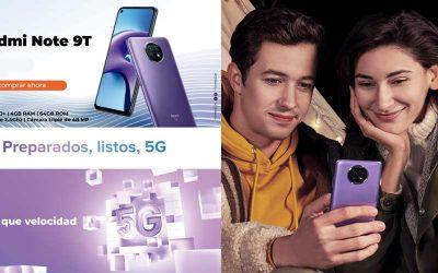 Redmi Note 9T, preparados, listos, 5G