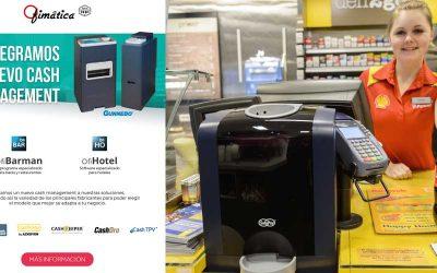 Ofimática integra Gunnebo como nuevo cash management