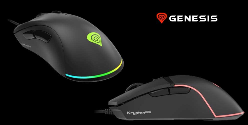 Nuevos ratones Genesis Krypton 200 y 220