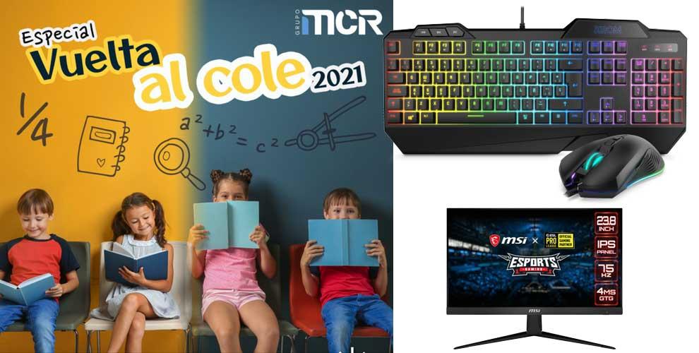 Especial Vuelta al Cole 2021 en MCR