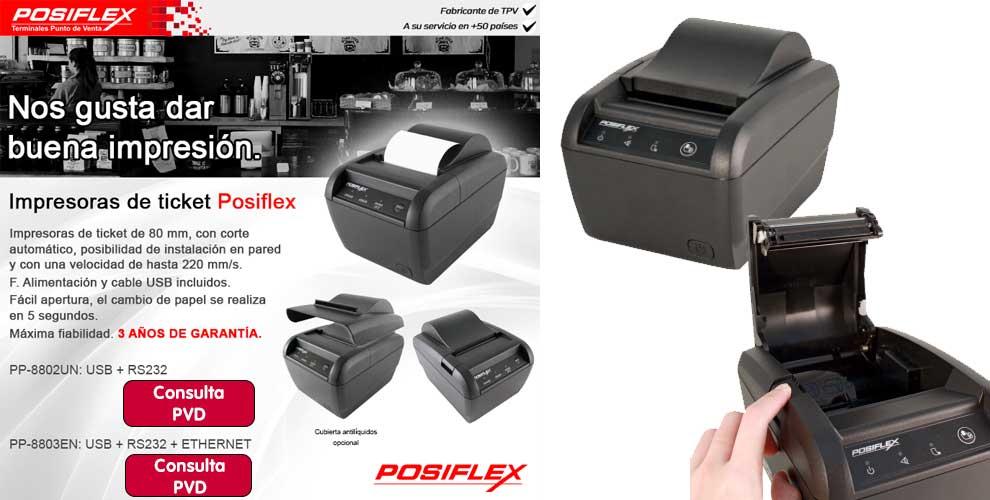 La mejor impresión en Posiflex