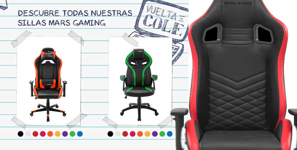 Descubre las sillas Mars Gaming en Infowork