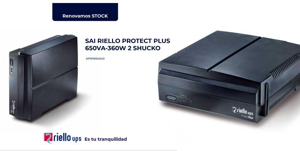 Riello SAI Protect Plus 650VA a precio increible