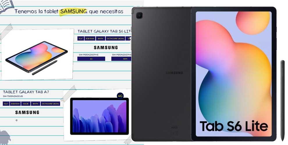 La tablet Samsung que necesitas