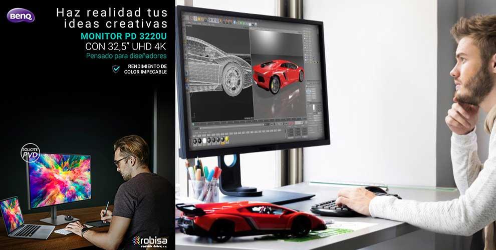 Benq DesignVue disponibles en Robisa