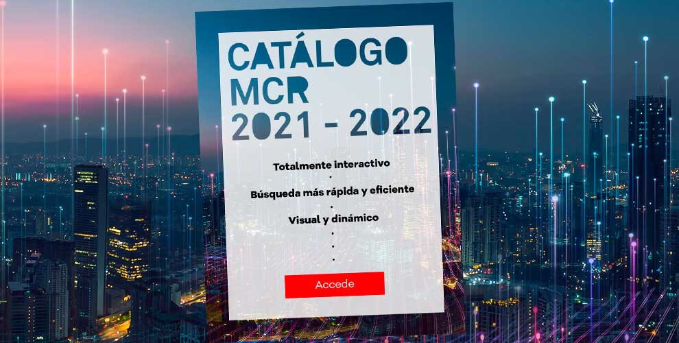 MCR infoelectronic catalogo general