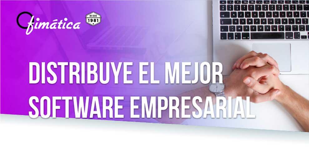 distribuye el mejor software empresarial
